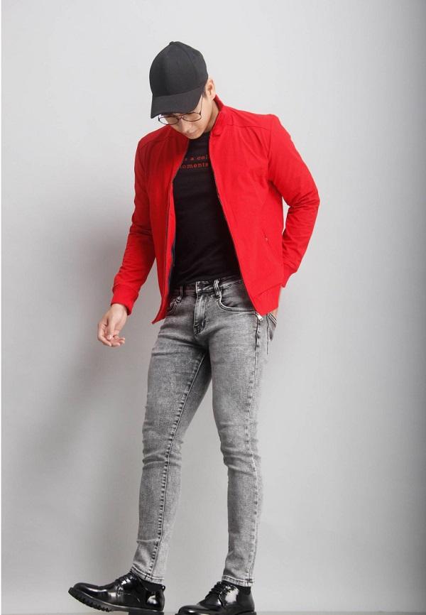 áo khoác trơn 3